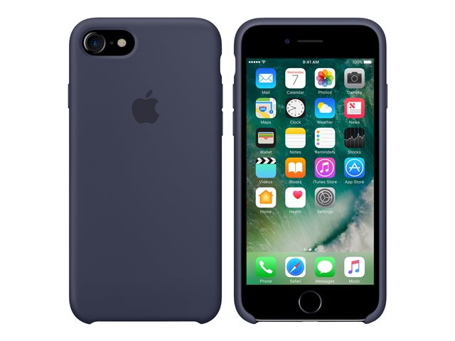 Ver IPHONE 7 FUNDA SILICONA MIDNIGHT BLUE