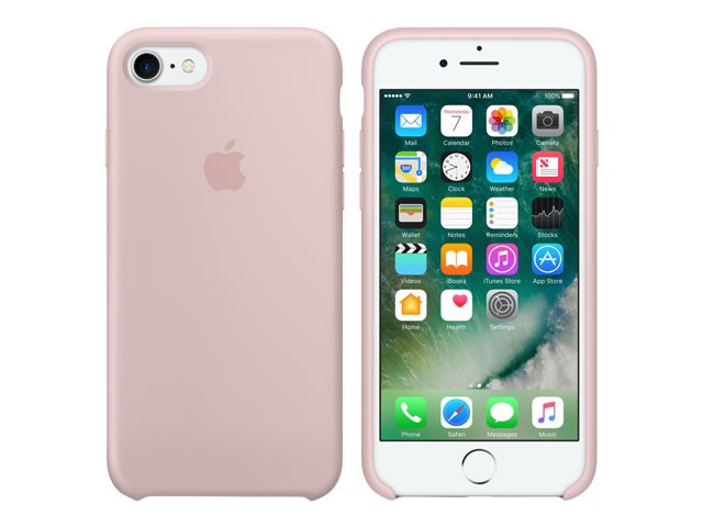 Moviles iphone 7 funda silicona pink sand - Fundas iphone silicona ...