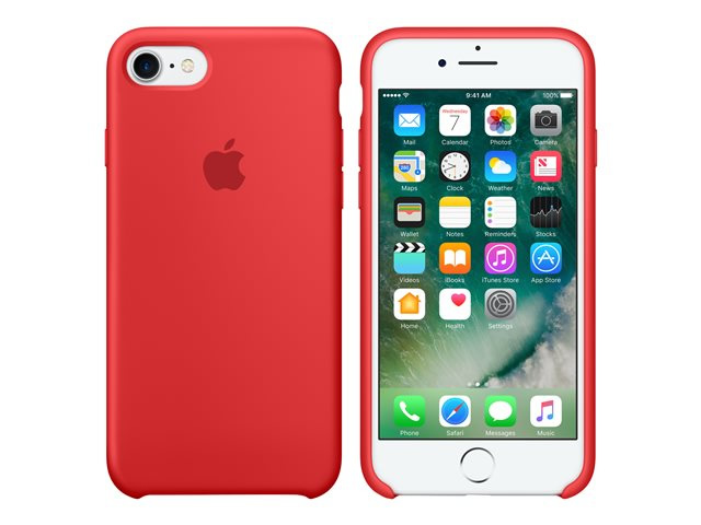Ver IPHONE 7 FUNDA SILICONA PRODUCT ROJO