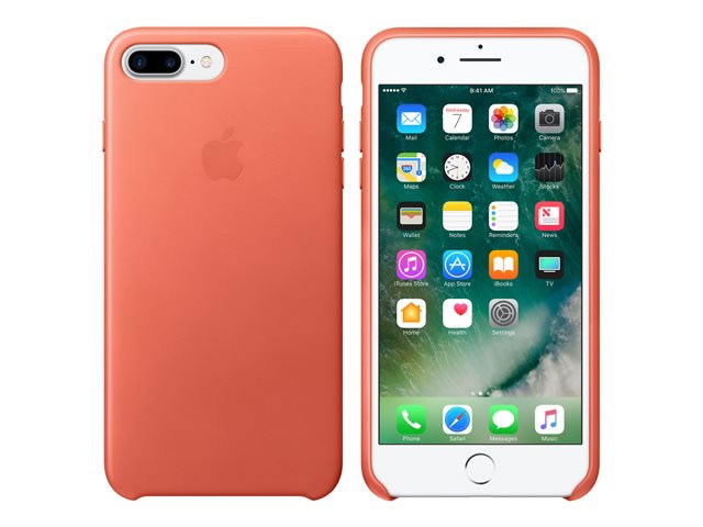Ver IPHONE 7 PLUS FUNDA CUERO ROSA GERANIO