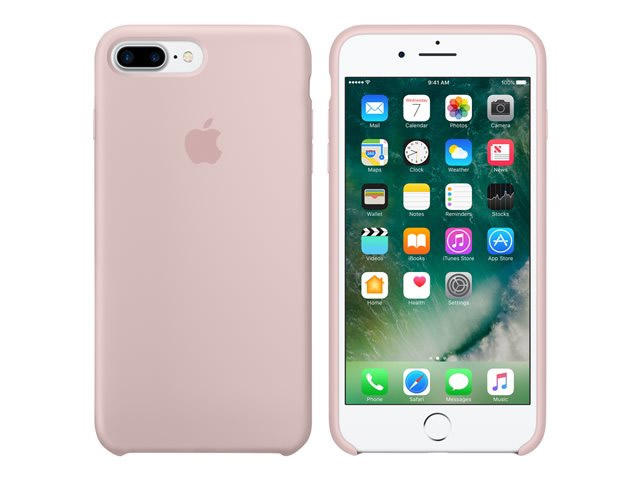 Ver IPHONE 7 PLUS FUNDA SILICONA PINK SAND