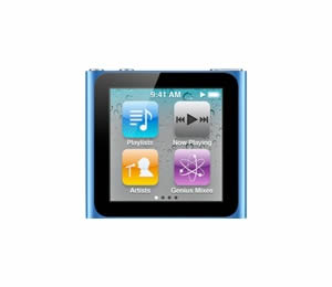 Ipod Nano 8gb Azul Mc689ql A