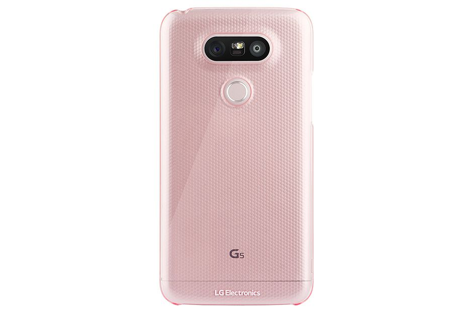 LG Crystal Guard Case 53 Funda Rosa