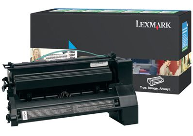 Ver Lexmark C780  C782 Cyan High Yield Return Program Print Cartridge