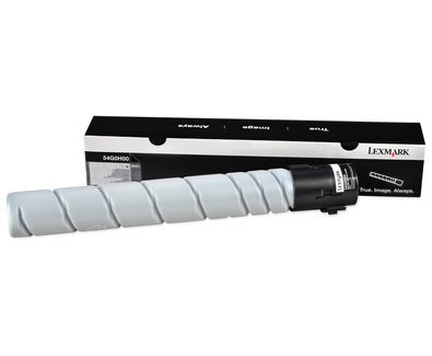 Lexmark 54G0H00 32500paginas Negro toner y cartucho laser