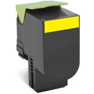 Lexmark 80C2SYE toner y cartucho laser