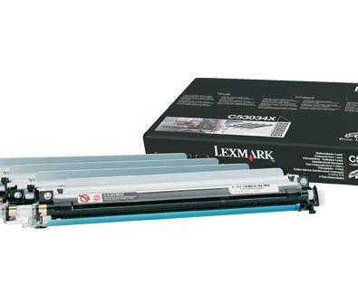 Lexmark C52x C53x Caja con 4 fotoconductores para los dispositivos fotoconductor