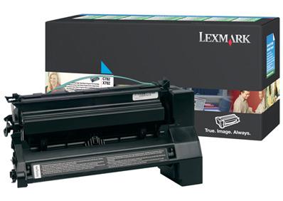 Lexmark C782X1CG Cartucho de toner 15000paginas Cian