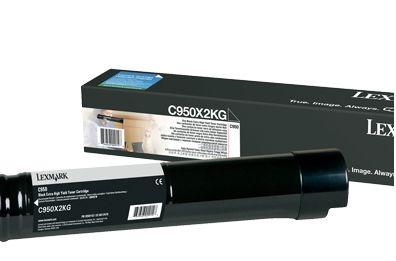 Lexmark C950X2KG 38000paginas Negro toner y cartucho laser