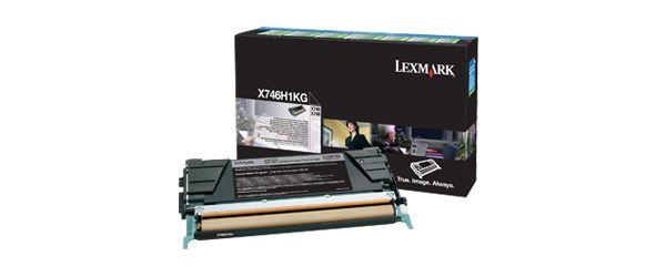 Lexmark X746H1KG Toner 12000paginas Negro toner y cartucho laser