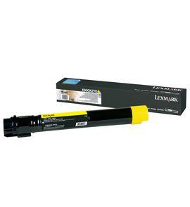 Ver Lexmark X950X2YG 24000paginas Amarillo toner y cartucho laser