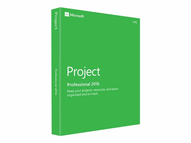 Ver Microsoft Project Professional 2016 licencia 1 PC