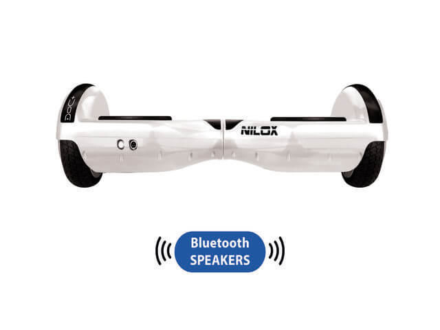 Ver NILOX HOVERBOARD PLUS 6 5 BLANCO BLUETOOTH S