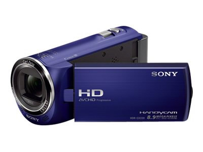 Sony Cx220 Full Hd Azul 27x Grab En Sd
