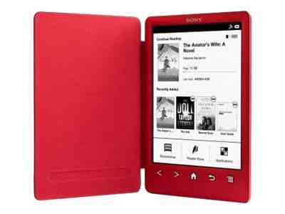 Sony Prs-t3 - Lector Ebook - 2 Gb - 6 Funda Integrada Rojo