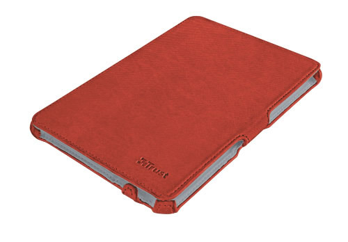 Stile Hardcover Skin Folio Stand For Ipad Mini Rojo