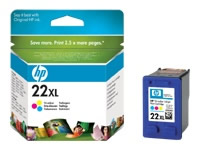 TINTA DE INYECCION TRICOLOR HP N 22 XL