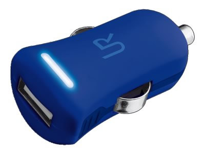TRUS SMARTPHONE CAR CHARGER  BLUE