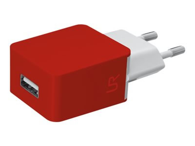 Ver TRUS SMARTPHONE WALL CHARGER  RED