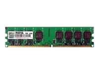 Transcend 1gb Ddr2 800mhz Pc2-6400 Cl5 Dimm Ts128mlq64v8u