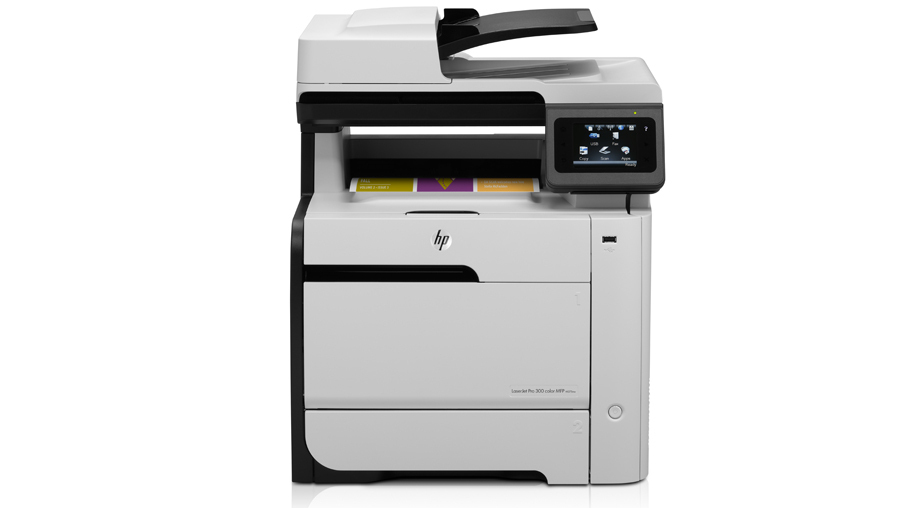 Impresora Multifuncion A Color Hp Laserjet Pro 300 M375nw