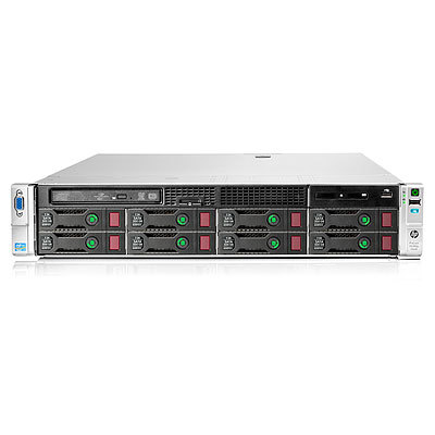 Servidor Basico Hp Proliant Dl380p Gen8 E5-2620 1p  16 Gb-rp420i  Sff 460 W Ps