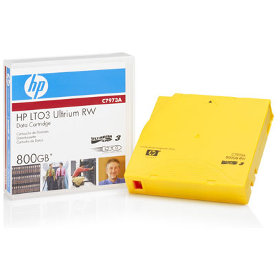 Cinta de datos reescribible HP Ultrium de 800 GB C7973A