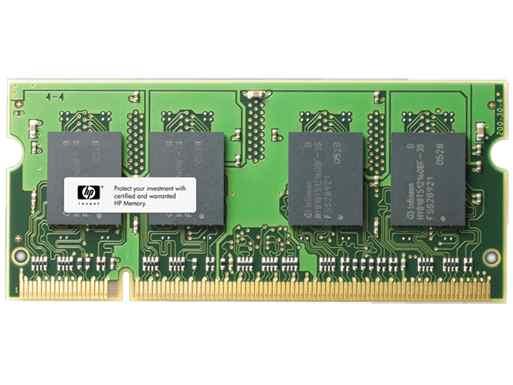 Ver Memoria SODIMM de 4 GB PC3-12800  DDR3-1600 MHz  de HP B4U39AA