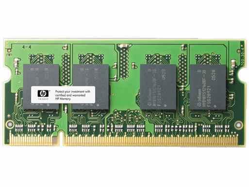 Ver Memoria SODIMM de 8 GB PC3-12800  DDR3-1600 MHz  de HP