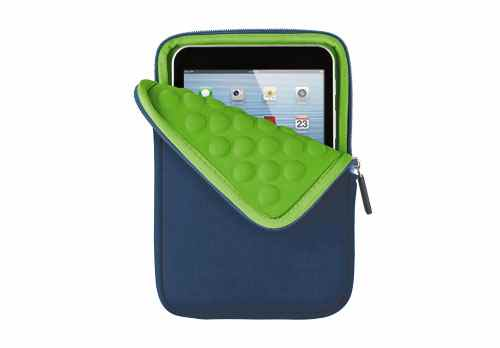 Trust Anti-shock Bubble Sleeve For 7 Tablets - Blue