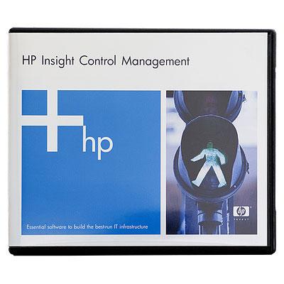 Hp Insight Control Including 1yr 24x7 Tsu Electronic License