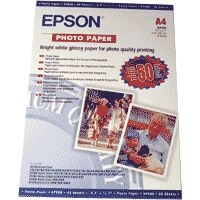 Epson A4 Photo Paper 50 Sheets