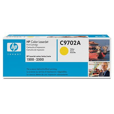 Cartucho de impresion amarillo HP Color LaserJet C9702A