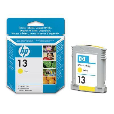 Ver Cartucho de tinta amarilla HP 13