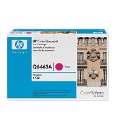 Ver Cartucho de impresion magenta para HP Color LaserJet Q6463A