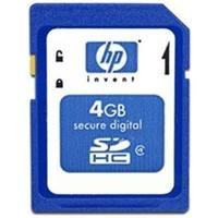 Kit De Soportes Flash Hp Secure Digital High Capacity De 4 Gb