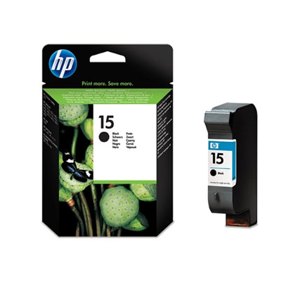 Ver Cartucho negro de inyeccion de tinta HP 15  alta capacidad