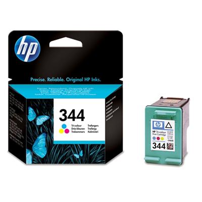 Cartucho tricolor de inyeccion de tinta HP 344 con tintas Vivera
