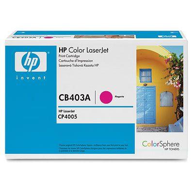 Cartucho de impresion magenta para HP Color LaserJet CB403A