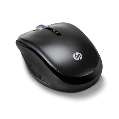 Raton Hp Inalambrico Optico  Carbon  De 2 4 Ghz
