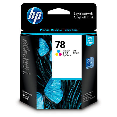 Ver HP 78 Tri-colour Inkjet Print Cartridge