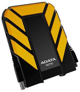 Ver ADATA 1TB DashDrive Durable HD710 amarillo