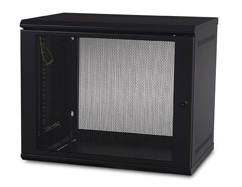 APC AR109 estante 90 91 kg Bastidor de pared Negro
