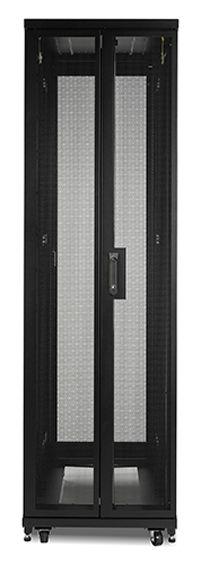 APC NetShelter SV estante 1002 27 kg Rack o bastidor independiente Negro