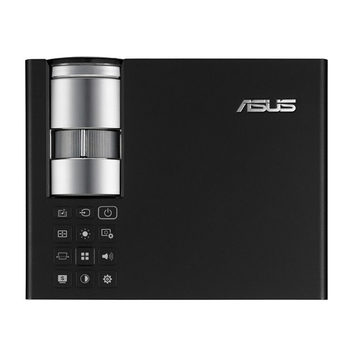 Ver ASUS B1MR 900lumenes ANSI DLP WXGA 1280x800 3D Escritorio Negro videoproyector