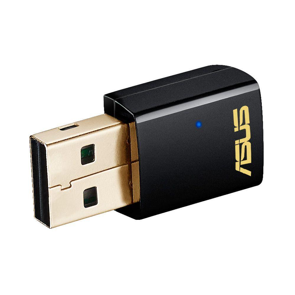 Ver ASUS USB AC51 adaptador y tarjeta de red