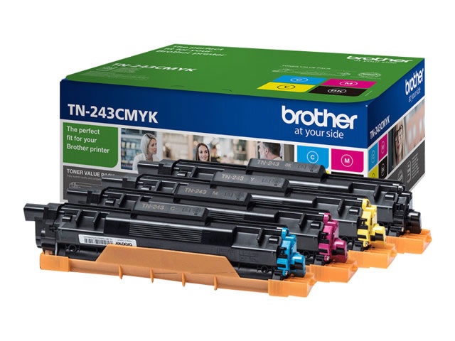 Brother TN243CMYK Value Pack