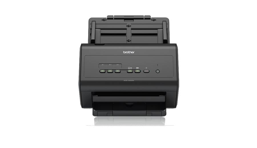Ver Brother ADS 3000N Escaner 50 ppm USB Red