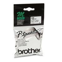 Brother MK 231B Negro sobre blanco cinta para impresora de etiquetas