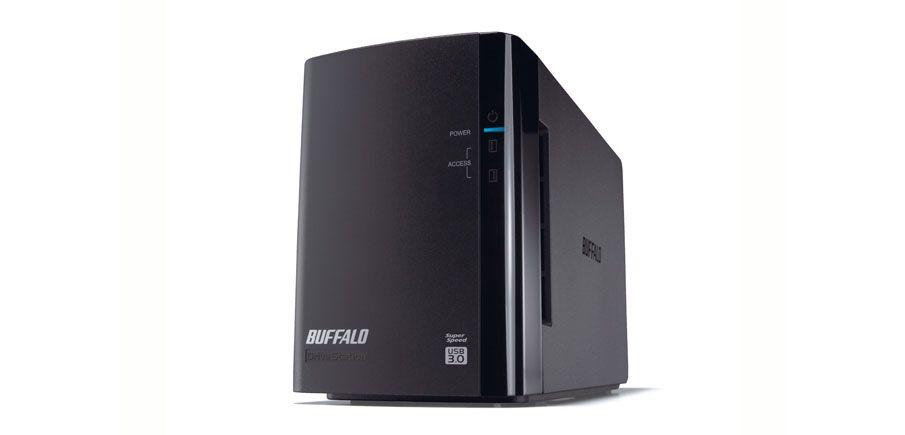Buffalo DriveStation Duo USB 3 0 Servidor de almacenamiento Negro